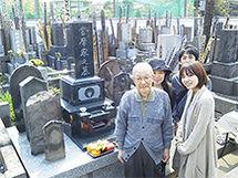 東京都板橋区内寺院墓地 當間様
