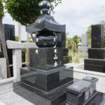 船橋市営馬込霊園での新規返還墓所の墓石工事