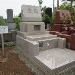 八柱霊園での墓石工事